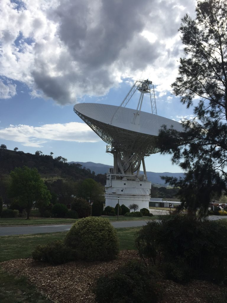 The reason we are here - these big boy antennas!