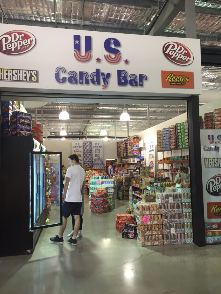 So this was a thing... U.S. Candy Bar Store