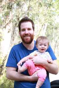 Baby Lizzy whines at Tidbinbilla Nature Reserve
