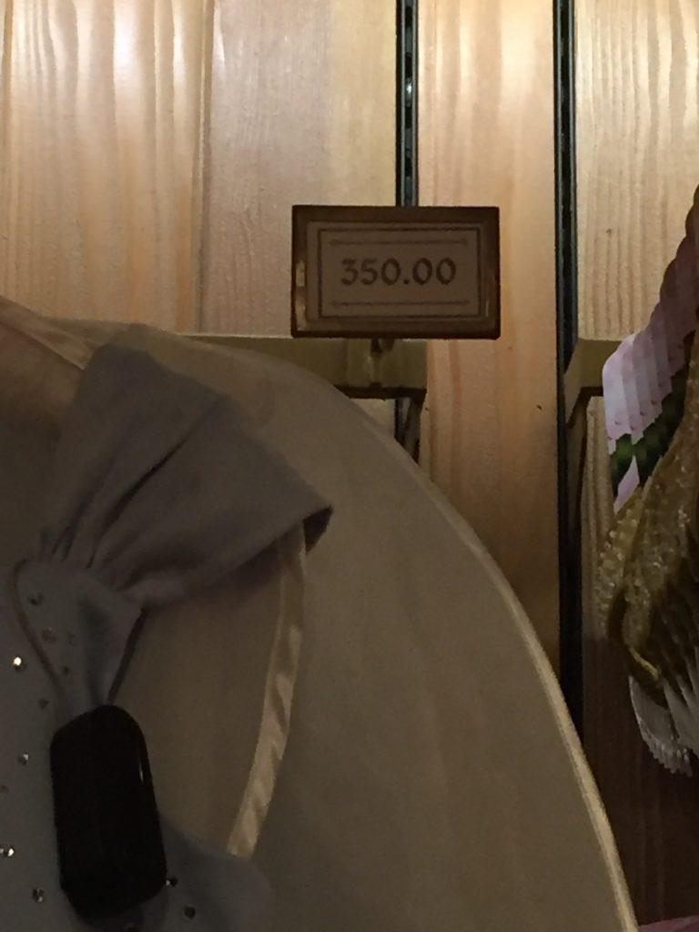 Boom - costume price. Disneyland Halloween Party
